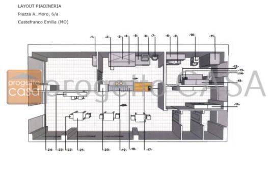RIF.N37 – VENDESI ATTIVITA' DI PIADINERIA BENE AVVIATA IN ZONA CENTRALE DI FORTE PASSAGGIO.